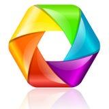 País del movimiento del color de los busines del Internet del Web del recorrido del planeta de la tierra del círculo del globo ilustración del vector