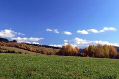País del otoño Fotografía de archivo libre de regalías
