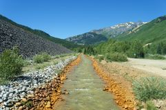 País do ouro de Colorado fotografia de stock royalty free