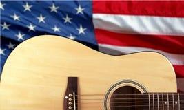 País e música ocidental Foto de Stock Royalty Free