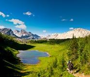País escénico Alberta Canada de Kananaskis de los Mountain View Imagen de archivo