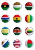 País flags-africa2 Fotografía de archivo
