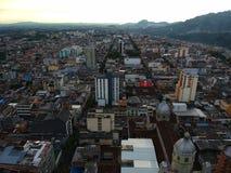 País grande Colômbia da cidade grande foto de stock royalty free