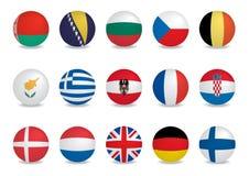 País indicador-EUROPA Fotos de archivo libres de regalías