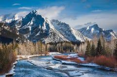 País inesquecível de Canadá-Kananaskis Fotos de Stock