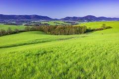 País montanhoso República Checa imagem de stock