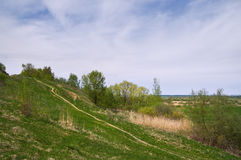 País quebrado Región de Rusia central, Ryazan Fotografía de archivo
