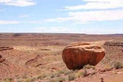 País rojo en Utah, los E.E.U.U. Imagen de archivo libre de regalías