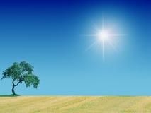 País Sun Imágenes de archivo libres de regalías