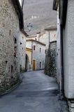 País viejo en Italia Imágenes de archivo libres de regalías