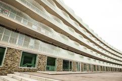 PAÍSES BAIXOS, AMSTERDÃO - 25 DE OUTUBRO DE 2015: Arquitetura moderna da cidade Amsterdão - Holanda Imagem de Stock