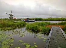 Países Baixos, Windmolens Imagem de Stock