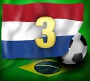 Países Bajos 3 ilustración del vector