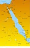 Países da região do Mar Vermelho Fotografia de Stock