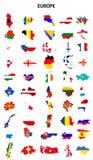 Países de Europa libre illustration