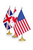 Países de habla inglesa Foto de archivo