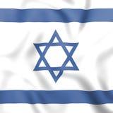 Países de Israel Shows Middle East And de la bandera stock de ilustración