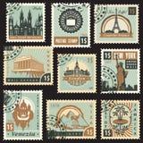 Países diferentes Fotos de archivo libres de regalías