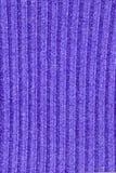 Paño azul de las lanas Fotos de archivo libres de regalías