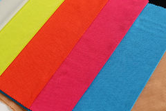 Paño colorido Imagen de archivo libre de regalías