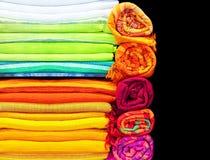 Paño colorido Foto de archivo libre de regalías