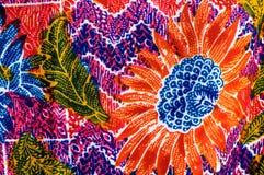 Paño colorido de las impresiones Imagenes de archivo