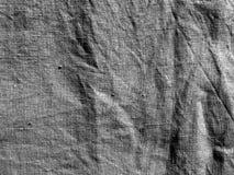 Paño de algodón blanco y negro del color Imagen de archivo