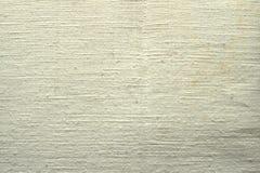 Paño de algodón grueso material de la tela de la arpillera de la arpillera fotografía de archivo libre de regalías