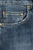 Paño de Jean Imagen de archivo
