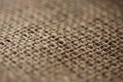 Paño de la arpillera Imágenes de archivo libres de regalías