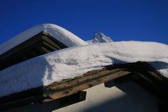 Paño de la nieve Fotos de archivo libres de regalías