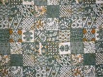 Paño del batik Imagenes de archivo