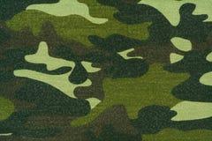 Paño del camuflaje Imagen de archivo libre de regalías