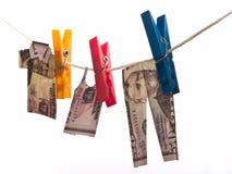 Paño del dólar Imagen de archivo libre de regalías