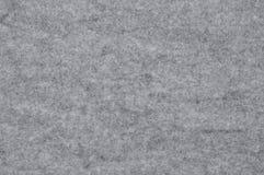 Paño del fieltro del gris Fotografía de archivo