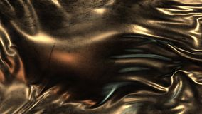 Paño del oro del grunge de la animación ilustración del vector