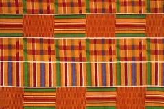 Paño Ghana de Kente Imágenes de archivo libres de regalías
