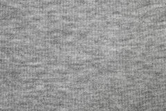 Paño gris de la textura de la camisa Foto de archivo libre de regalías