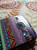 Paño móvil del androide del lense del foco Imagenes de archivo