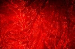 Paño rojo Fotos de archivo libres de regalías