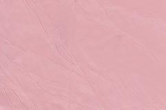 Paño rosado de la estructura Foto de archivo libre de regalías
