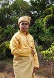 Paño tradicional malasio Foto de archivo libre de regalías