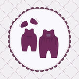 Paños del bebé Imagen de archivo libre de regalías