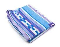 Pañuelo azul foto de archivo libre de regalías