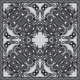 Pañuelo floral ornamental gris de Paisley libre illustration