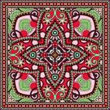 Pañuelo floral ornamental tradicional de Paisley Imágenes de archivo libres de regalías