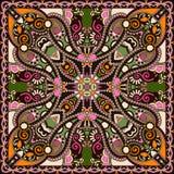 Pañuelo floral ornamental tradicional de Paisley Fotos de archivo
