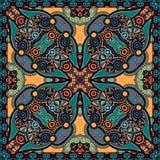 Pañuelo floral ornamental tradicional de Paisley Fotos de archivo libres de regalías