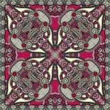 Pañuelo floral ornamental tradicional de Paisley Foto de archivo