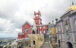 pałac średniowieczny styl Zdjęcie Royalty Free